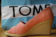 @Jillian Wood..never saw this kind of Toms ......(of course I never really looked ;-)TOMS wedges for spring