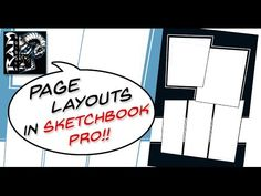 Creating Comic Book Panels In Sketchbook Pro - Narrated by Robert Marzullo Comic Layout, Sketchbook Pro, Comic Book Panels, Sketch Books, Comic Drawing, Literature Books, Page Layout, Book Reviews, Art Journals