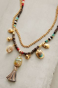 Orli Tassel Necklace - anthropologie.com