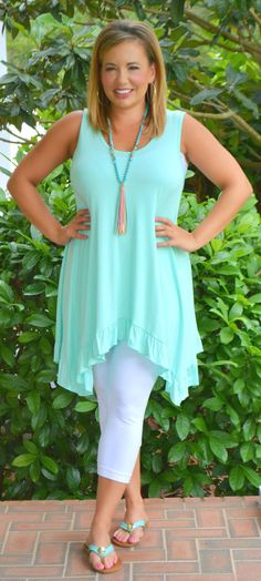 Too Cute To Be Blue Tunic