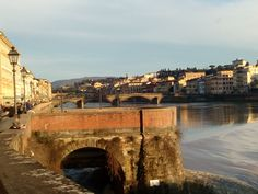 The Arno in a beautiful light