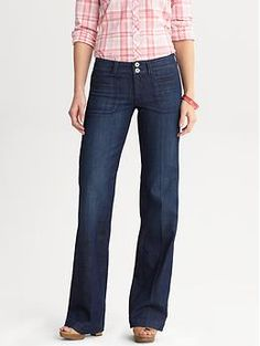 Have to have these!!!! LOVE banana republic jeans...my only big splurge.