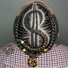 Box Braids Hairstyles, Kids Braided Hairstyles, Boy Hairstyles, Updos Hairstyle, Trendy Hairstyles, Black Girl Braids, Braids For Black Hair, Braid Styles For Men, Ponytail Styles