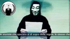 Anonymous smaschera Matteo Renzi ecco chi comanda il nostro paese!!