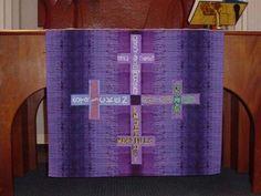 Idea for Lenten Table Cloth