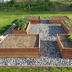 Garden Design Plans, Vegetable Garden Design, Potager Garden, Garden Landscaping, Garden Cottage, Home And Garden, Raised Garden Beds, Garden Planning, Outdoor Gardens