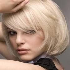 hairstyles for women with square jaw - Google Search