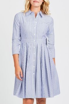 Eliza J Fit And Flare Shirtdress