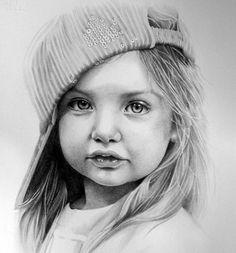 Dessin de Portrait personnalisé sur mesure au crayon dessin