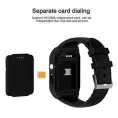 d55868bbcef New Casual Bluetooth Smart Watch Android 4.4.2 Camera Support 3G Wifi  Single Nano SIM Card