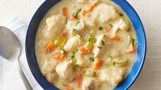 This easy Instant Pot™ version of classic chicken and dumplings makes the best use of the multicooker. Brown the chicken, pressure cook, then boil the dumplings all in one appliance!