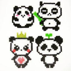 bunch of panda. which is ur fav? *credits: designs from weibo mmbeads_china* #panda #perlers #perlerbeadmaker #perler #perlerbead #perlerbeads #perlerart #perlerbeadart #minibeads #miniperler #hamabeads #handmade #hamaperler #fusebeads #meltybeads #ironbeads #拼豆 #拼豆豆 #拼拼豆豆 #手作