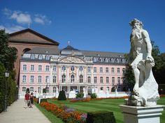 Kurfuerstliches Palace in Trier, Germany