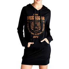 Women Conor McGregor UFC 202 Tiger Food Long Hoodie Sweatshirt *** More info could be found at the image url.(This is an Amazon affiliate link and I receive a commission for the sales)
