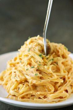 13 Slow Cooker Pasta Recipes That Basically Make Themselves | Brit   Co