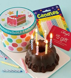 Chocolate Birthday Gracelet Greeting Try our FAMOUS Miss Grace chocolate cake! ONLY $9.99 DELIVERED!  WOW, what a great deal on such a great gift!!