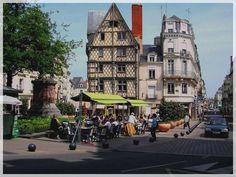 Study in France - Angers, Pays-de-la-Loire, Summer 1997 (photo by Judit Kramli)