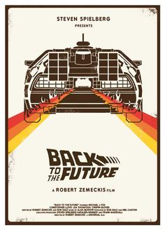Back To The Future | Minimal Alternative Movie Posters