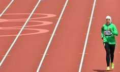 Sarah Attar is first Saudi Arabian woman in Olympic track and field.    US-resident college athlete finishes a distant last in 800m heat but attracts standing ovation as she crosses finish line...      US-resident college athlete finishes a distant last in 800m heat but attracts standing ovation as she crosses finish line