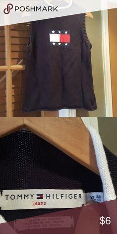 edd26daee15 Tommy Hilfiger sweater like sleeveless top Tommy Hilfiger sweater like  sleeveless top in size XL.