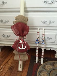 Nautical Greek boy christening: Lambada