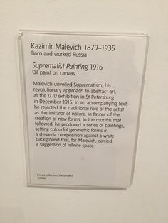 Malevich description