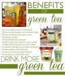 I live off green tea!