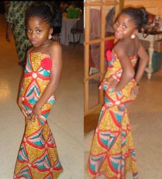 African dress for kid