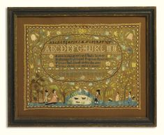 Rare needlework sampler, Mary Coffin (1790-1864)<br>Newburyport, Essex County, Massachusetts, dated 1801 | Lot | Sotheby's