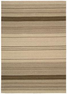 Griot Kalimba Clove Stripe Area Rug