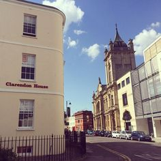 Our Cheltenham office in the glorious sunshine  #townplanning #planningconsultants #planning #cheltenham #cheltenhamlibrary #cheltenhamartgallery