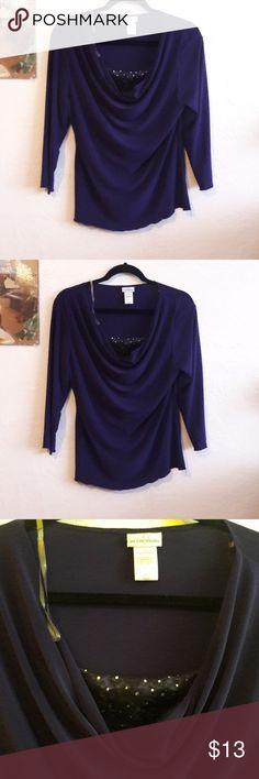Purple Jaclyn Smith blouse Jaclyn Smith blouse Jaclyn Smith Tops Blouses