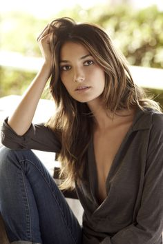 Lily Aldridge in Velvet by Graham & Spencer, Cosette 2010. #LilyAldridge