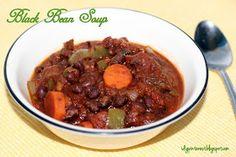 I Dig Pinterest: Healthy Slow-Cooker Black Bean Soup