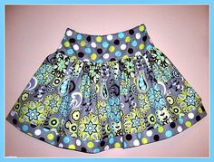 Girls Boutique Skirt Full Twirl Baby to Tween by Little4Awhile, $24.95