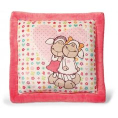 NICI Jolly Amy and Frances Sheep Square Printed Cushion 5cc0db93fb