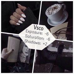 Instagram Filter Ideas VSCO cam #Technology #Trusper #Tip