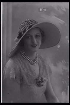 Glass Half Plate  Image of D. Whitelaw Esq. modelling a hat for the milliner Frank Brighton Ltd. Published in London Magazine.    Maker:  Bassano Studio  Production Date:  1931-05-28