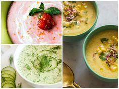 These chilled soups are perfect for a hot summer night when you're sick of salad- most of them don't even need  to be cooked!