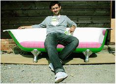 Recyklovaný nábytek? Ztřeštěný nápad s ekologickým podtextem