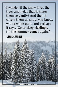 Quotes to Sum Up All Of Our Feelings About Winter