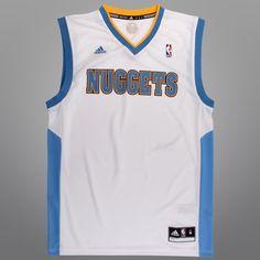 Regata Adidas Nuggets Home - NBA Store c62be07379c