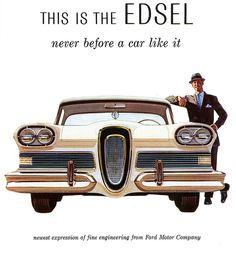 Vintage EDSEL Ad