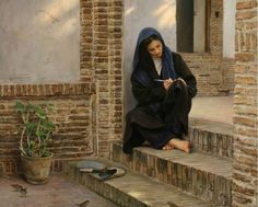Iranian artist Iman Maleki is known for his heart-touching and realistic paintings. Looking at his amazing realistic paintings we can understand that painting Amazing Paintings, Realistic Paintings, Amazing Art, Arabian Art, Islamic Paintings, Fine Art, Islamic Art, Female Art, Art Drawings