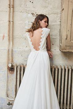 Robes de mariée de Maison Floret - Collection 2018 | Photographe : Fabio Piemonte | Donne-moi ta main - Blog mariage