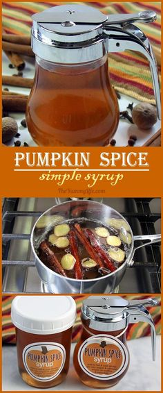 Pumpkin Spice Simple Syrup is so easy to make at home. Add this favorite flavor of Fall to hot and cold drinks--coffee, tea, cider, juice, sangria, cocktails. Stir it into yogurt, oatmeal, smoothies, and milk shakes. Drizzle it on waffles, pancakes or ice cream. Printable labels are provided for making DIY gift jars. From The Yummy Life.