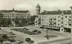 Olaus Petri skola Örebro | Örebro, Gumaeliusplan, Olaus Petri Skolan 1955