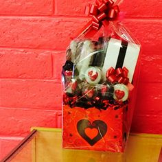 Custom Valentine's Day Gift Basket