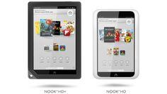 Barnes & Noble presenta sus nuevos tables para competir con los recientemente anunciados Amazon Kindle Fire HD, el nuevo Nook HD y el Nook HD+.