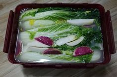 Korean Menu, Korean Food, K Food, Good Food, Easy Cooking, Cooking Recipes, My Best Recipe, Asian, Kimchi